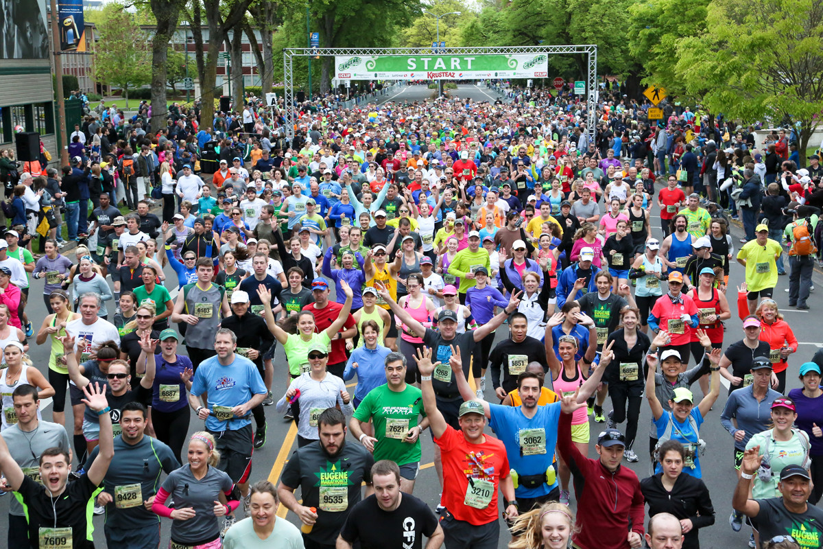 The Eugene Marathon is changing it´s course for 2019