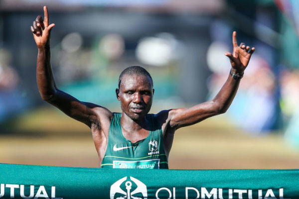 Defending champions Kenyan Justin Kemboi Chesire and local favorite Gerda Steyn are hoping to successfully defend their titles at Two Oceans