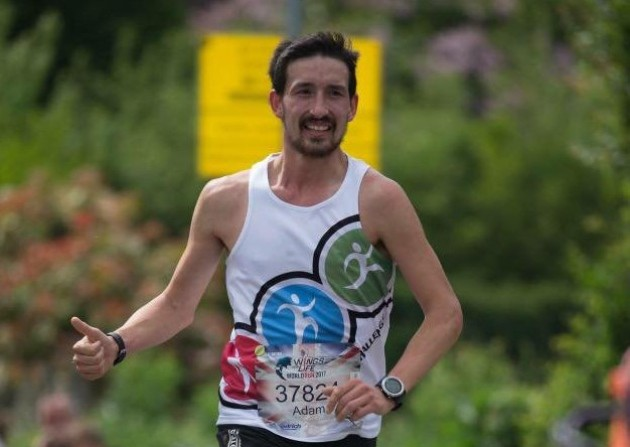 Adam Holland continue to dominate the Great Barrow Challenge 10 in 10, that's ten marathons in ten days