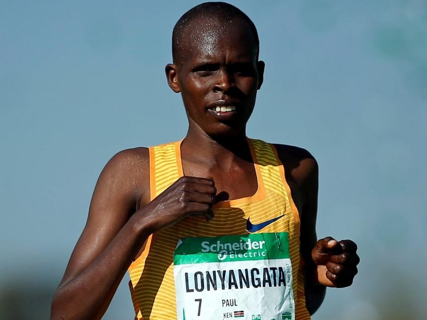 Injury has forced Paris Marathon champion Paul Lonyangata to not run Chicago