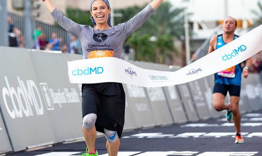 Beatie Deutsch from Israel wins Miami half-marathon