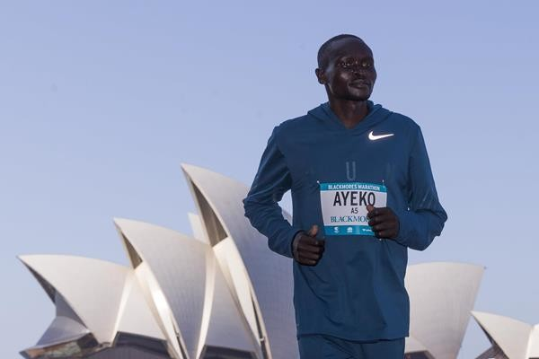 Uganda's Thomas Ayeko will be chasing the race course record at Sydney Marathon