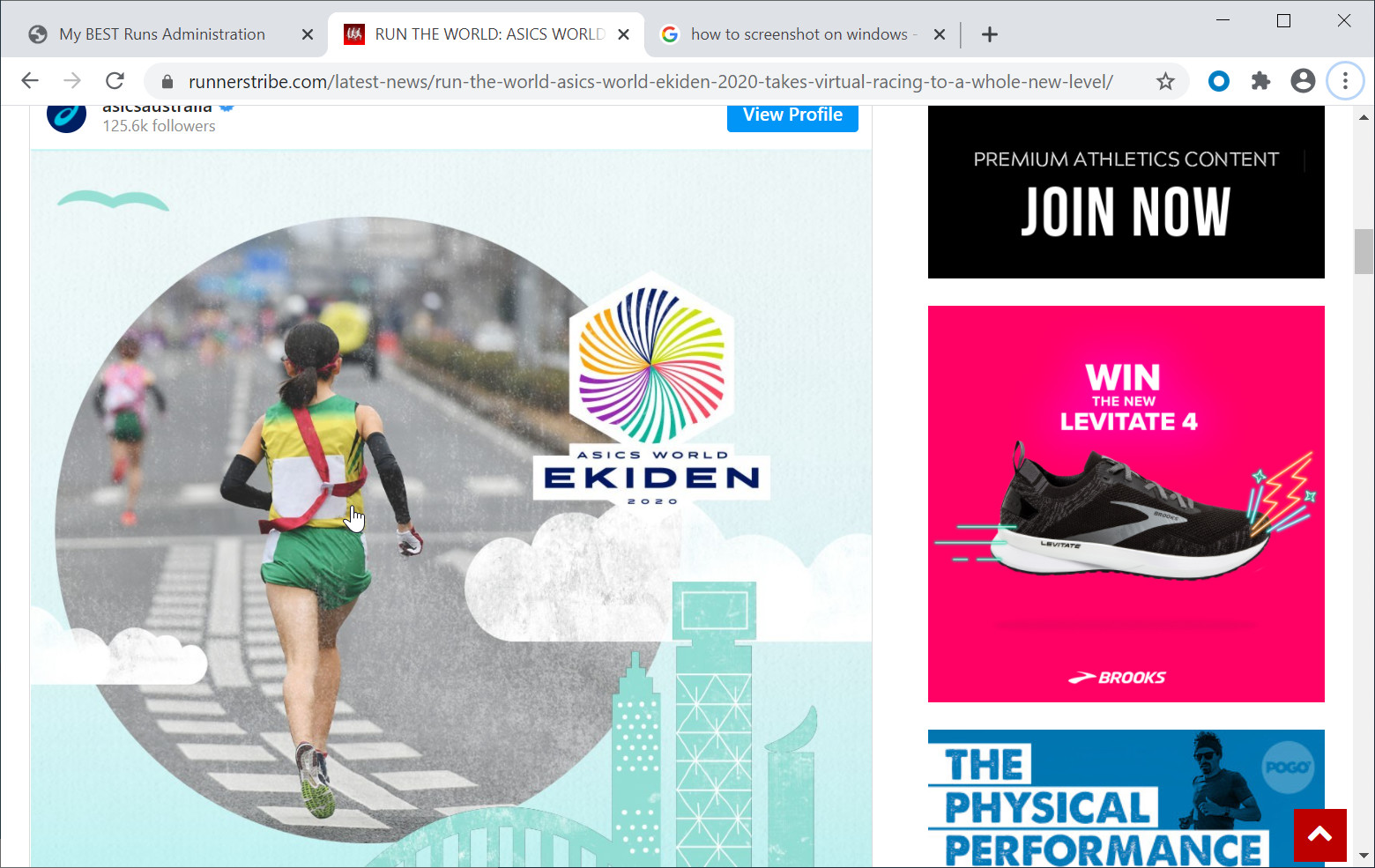 RUN THE WORLD: ASICS WORLD EKIDEN 2020 TAKES VIRTUAL RACING TO A WHOLE NEW LEVEL