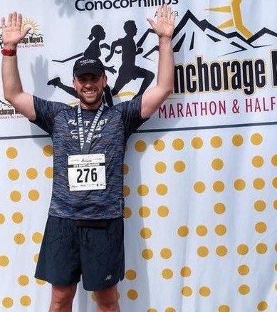 It took Christopher Regan just a little less than six years to run 50 marathons in 50 states