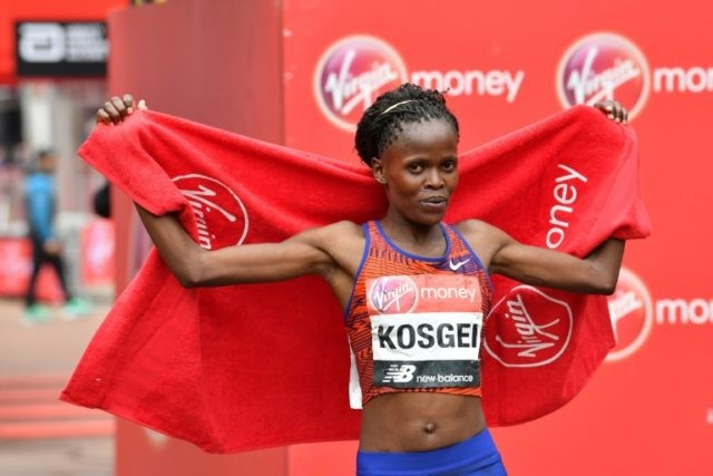Kenya's Brigid Kosgei dismisses fears over virus and Delhi pollution