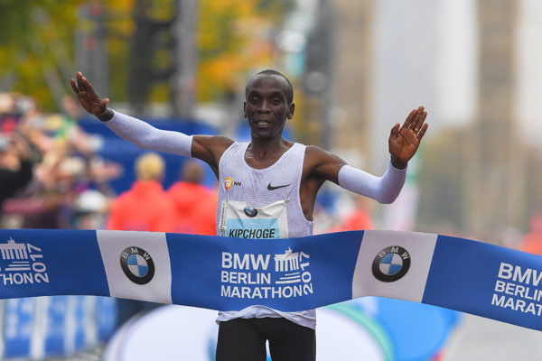 Eliud Kipchoge seeking again to challenge the world record at Berlin Marathon