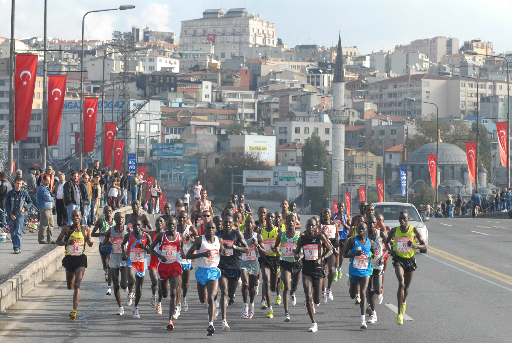 Organizers are expecting a record number of runners at this year's Istanbul Marathon