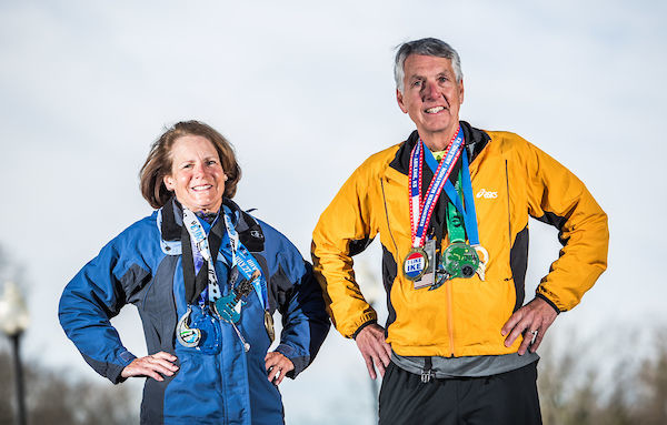 Mayor Dusch and his wife have run a marathon in all 50 states