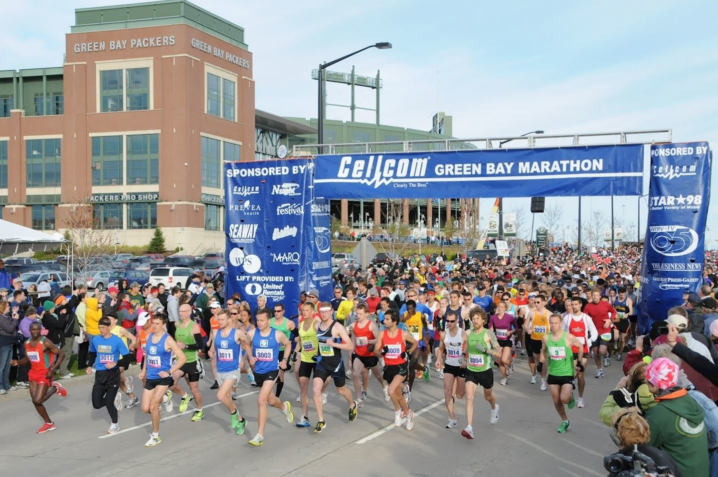 The Cellcom Green Bay Marathon is going to be a virtual run event