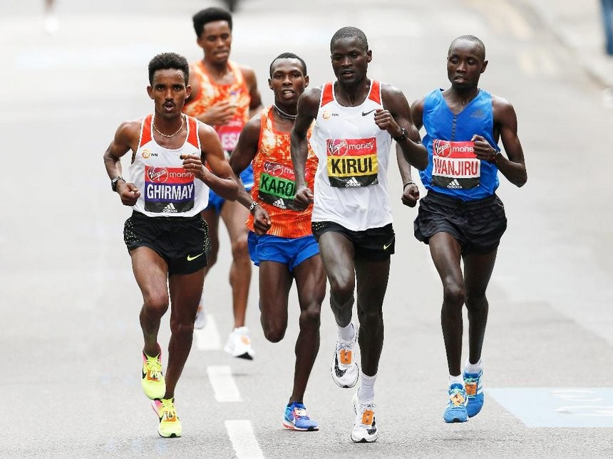 Kenyan´s Abel Kirui hopes to get the title at Hamburg Marathon