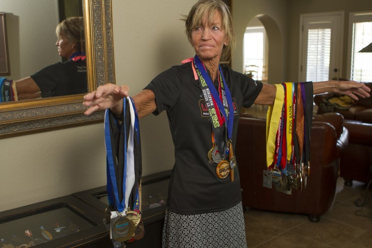 Debbie Zockoll ran the first St George Marathon back in 1977, and hasn´t stopped in 42 years