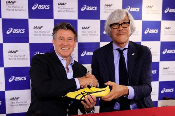 ASICS and the IAAF will extend partnership until 2029