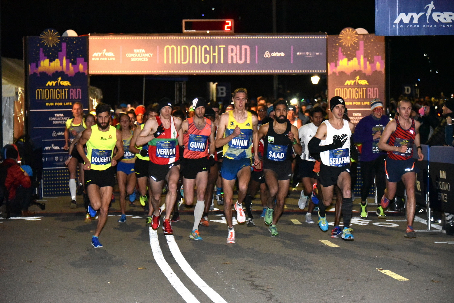 More Than 5,000 Runners to Run NYRR Midnight Run