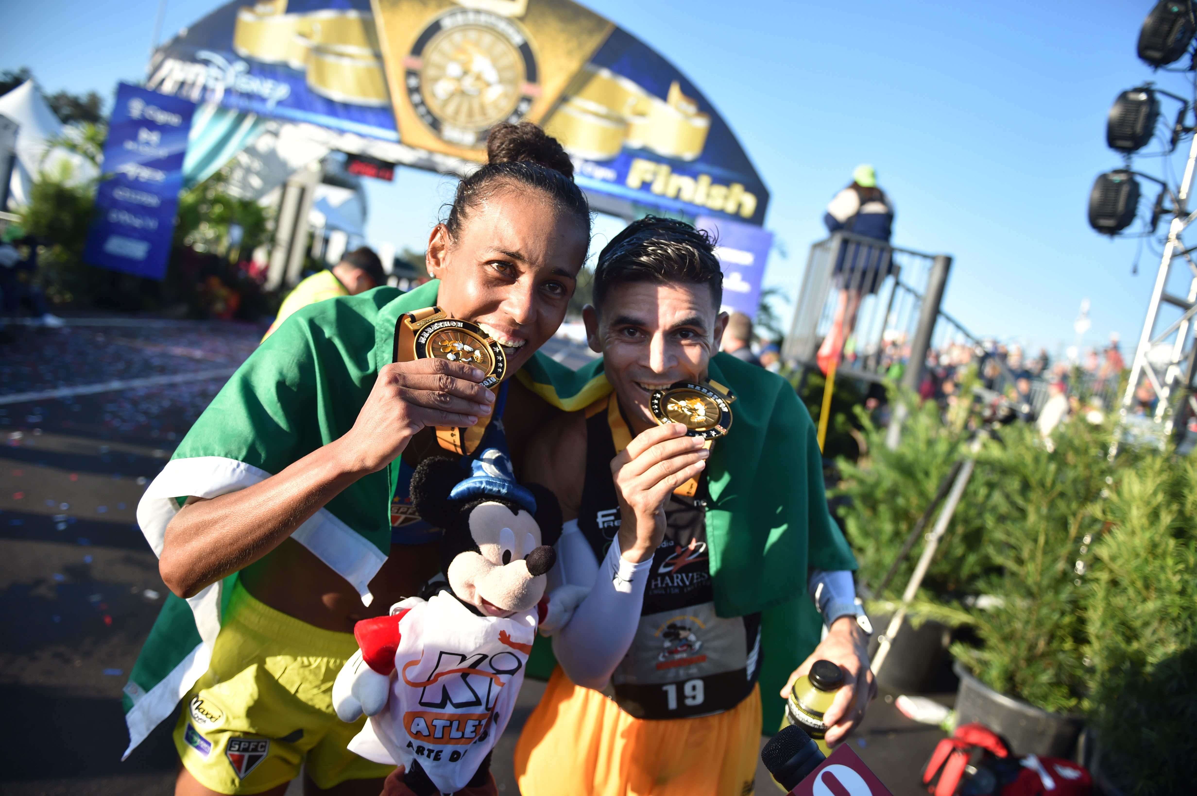 Past Brazilians Champions Dominate Walt Disney World Marathon Again