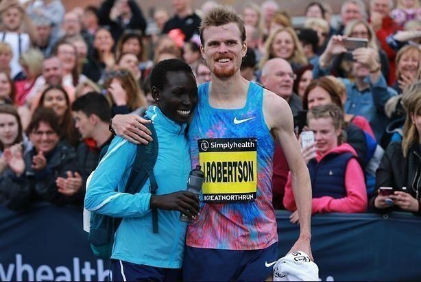Jake Robertson's wife Magdalyne Masai wants to be in the top three at Toronto Waterfront Marathon