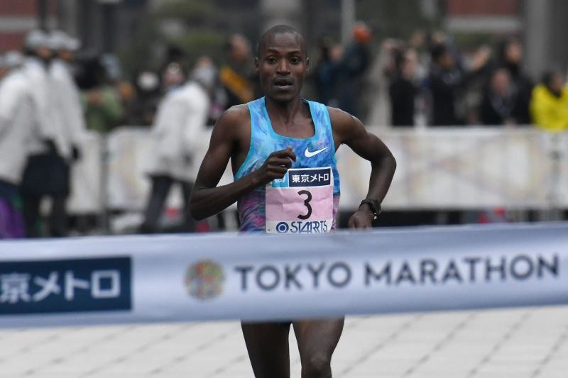 Two-time Tokyo marathon champion Dickson Chumba going for victory again March 3