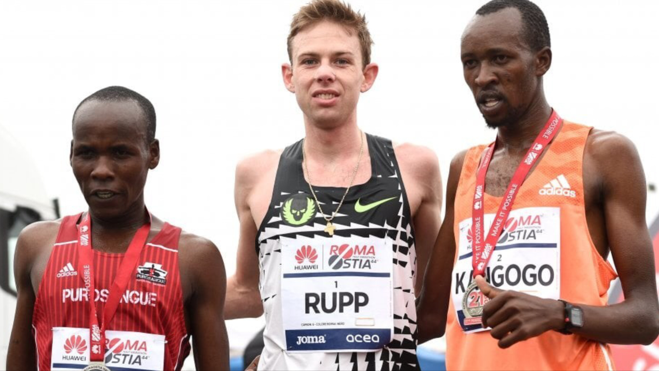 Galen Rupp runs first sub 60 to win 44th annual Roma Ostia Half Marathon