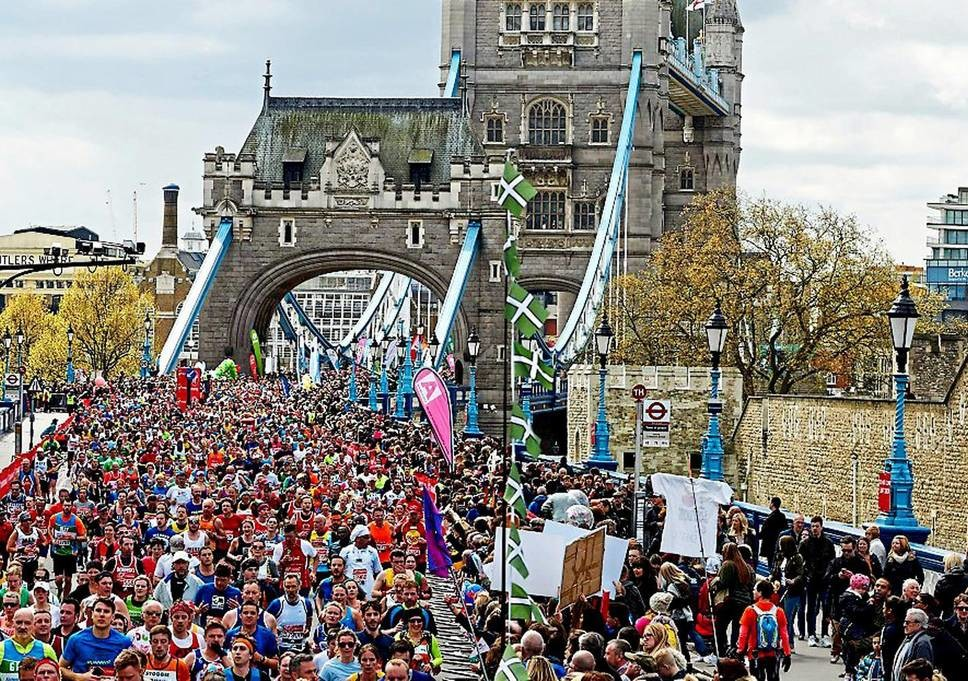 The most people ever applied to run the London Marathon
