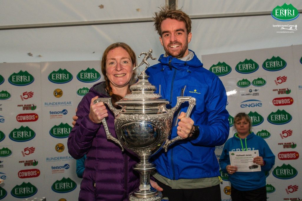 Rowlinson and Rowlands storm to Eryri victories at 37th Snowdonia Marathon