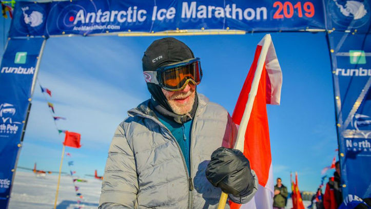 An 84-year-old Canadian man, Roy Jorgen Svenningsen, became the oldest person to ever run a marathon in Antarctica as he completed the Antarctic Ice Marathon