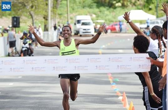 Prize Money is now going to be offer to anyone running faster than 1:10 at Bermuda Day Half