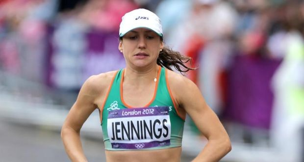 Caitriona Jennings handled tough conditions to win the Ireland National Half Marathon Championship in Dublin