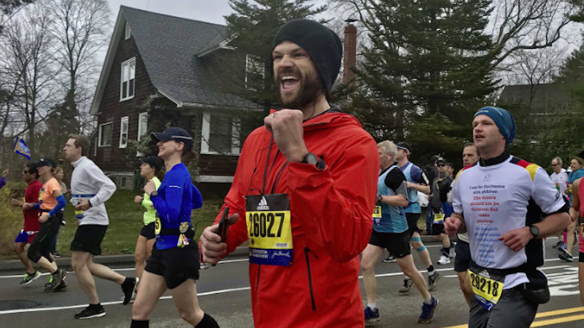 Actor Jared Padalecki is ready to run Austin Marathon for second year