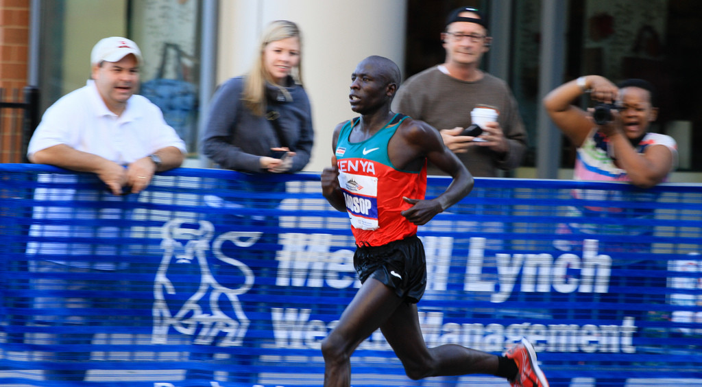 Kenya's Moses Mosop will lead a quality field at the Guangzhou Marathon this weekend