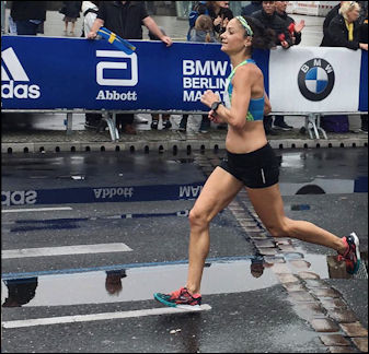 Olympic Trails qualifier, Karen Bertasso hopes to run well in Sunday's MVP Healthcare Stockade-athon 15k