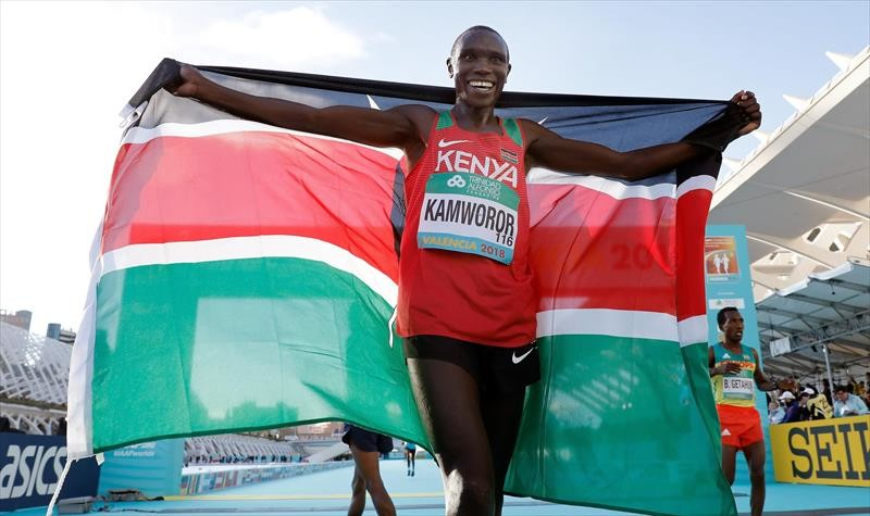Geoffrey Kamworor of Kenya operated on in Eldoret after freak road accident