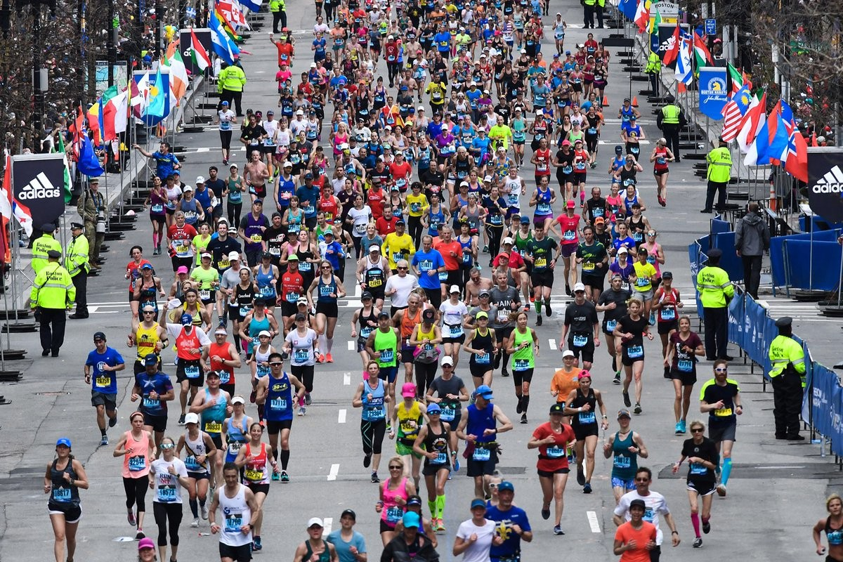 Registration for the 124th Boston Marathon begins Monday morning, the Boston Athletic Association announced Thursday