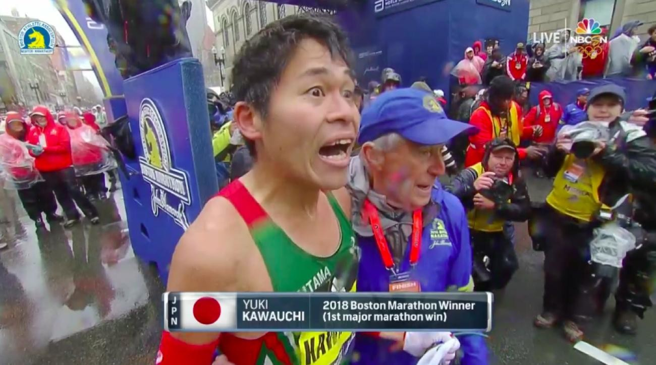 Boston Marathon's Champion Yuki Kawauchi is already Racing again on Sunday
