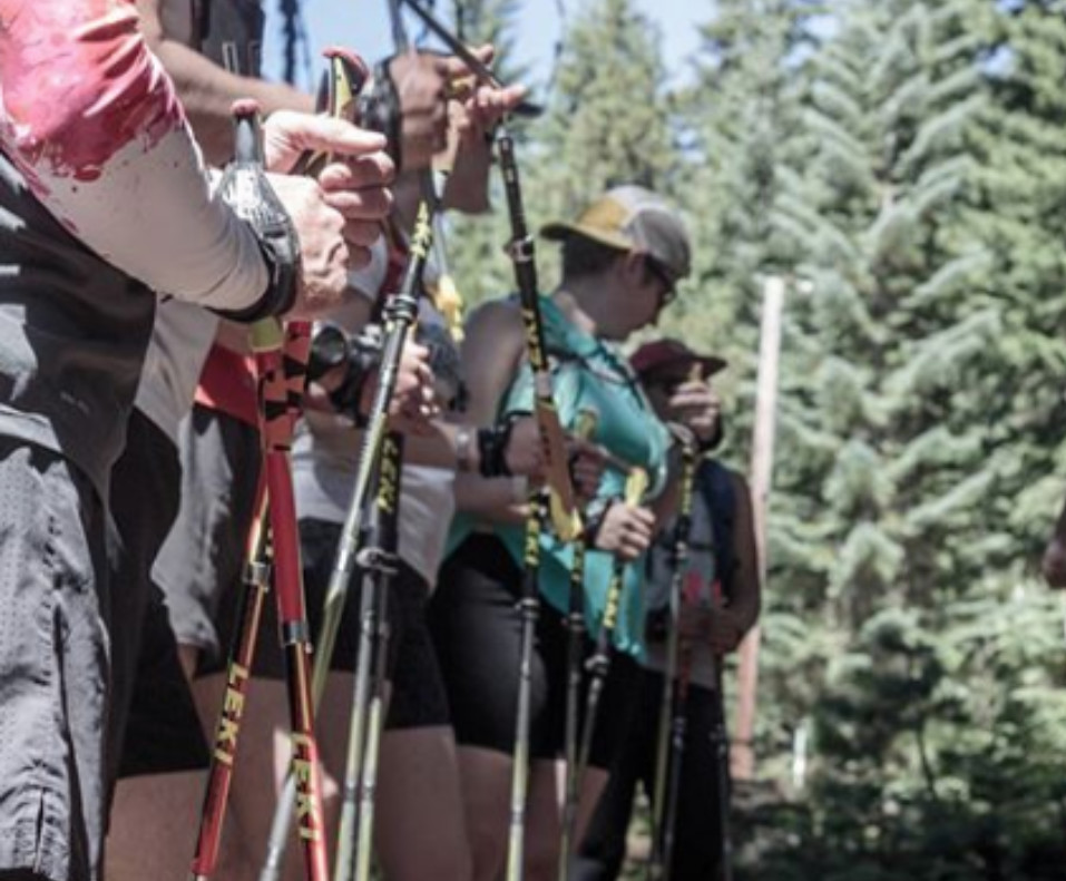 Do poles make ultra trail running more difficult?