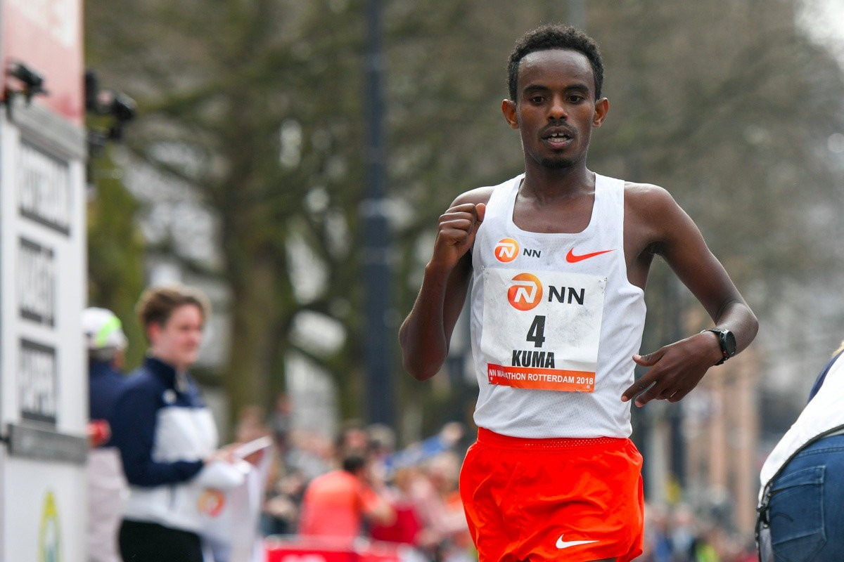 Abera Kuma of Ethiopia wants  to break the world record at BMW berlin marathon