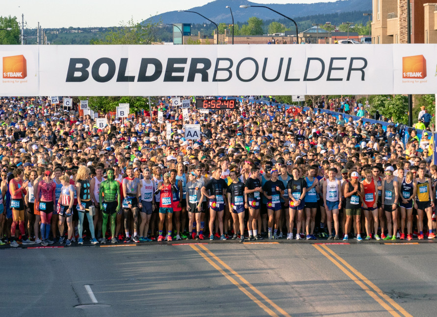 The Bolder Boulder 10K race is offering a free virtual event