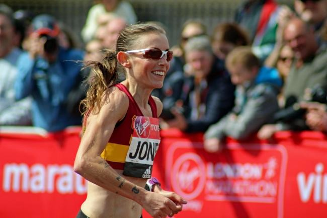 Great Britain´s Tish Jones has endured injuries, a bike crash and a kidney stone problem but remains focused on the London Marathon
