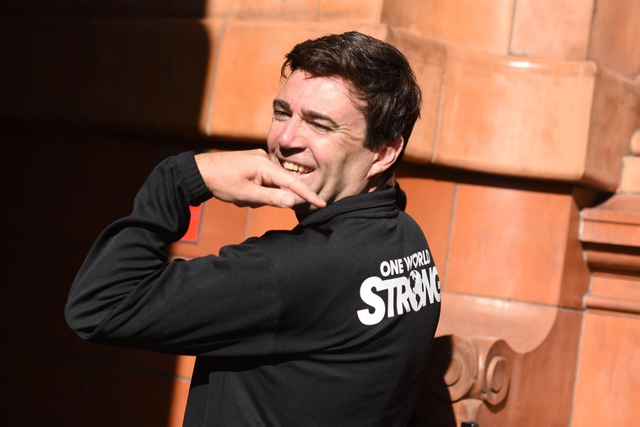 Andy Burnham, the Mayor of Greater Manchester is set to run Boston Marathon to bring cities together