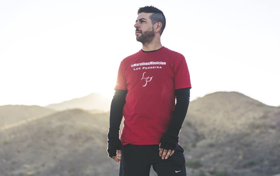 Marathon Musician Lee Perriera plans to run from Phoenix, Arizonia to Burbank, California, and hopes to raise $1 million for charity