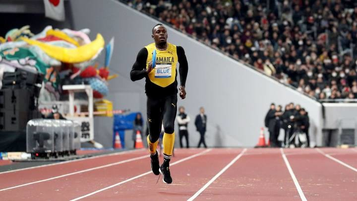 Usain Bolt said he was heartened to see the support that turned out for the inauguration of the National Stadium in Tokyo