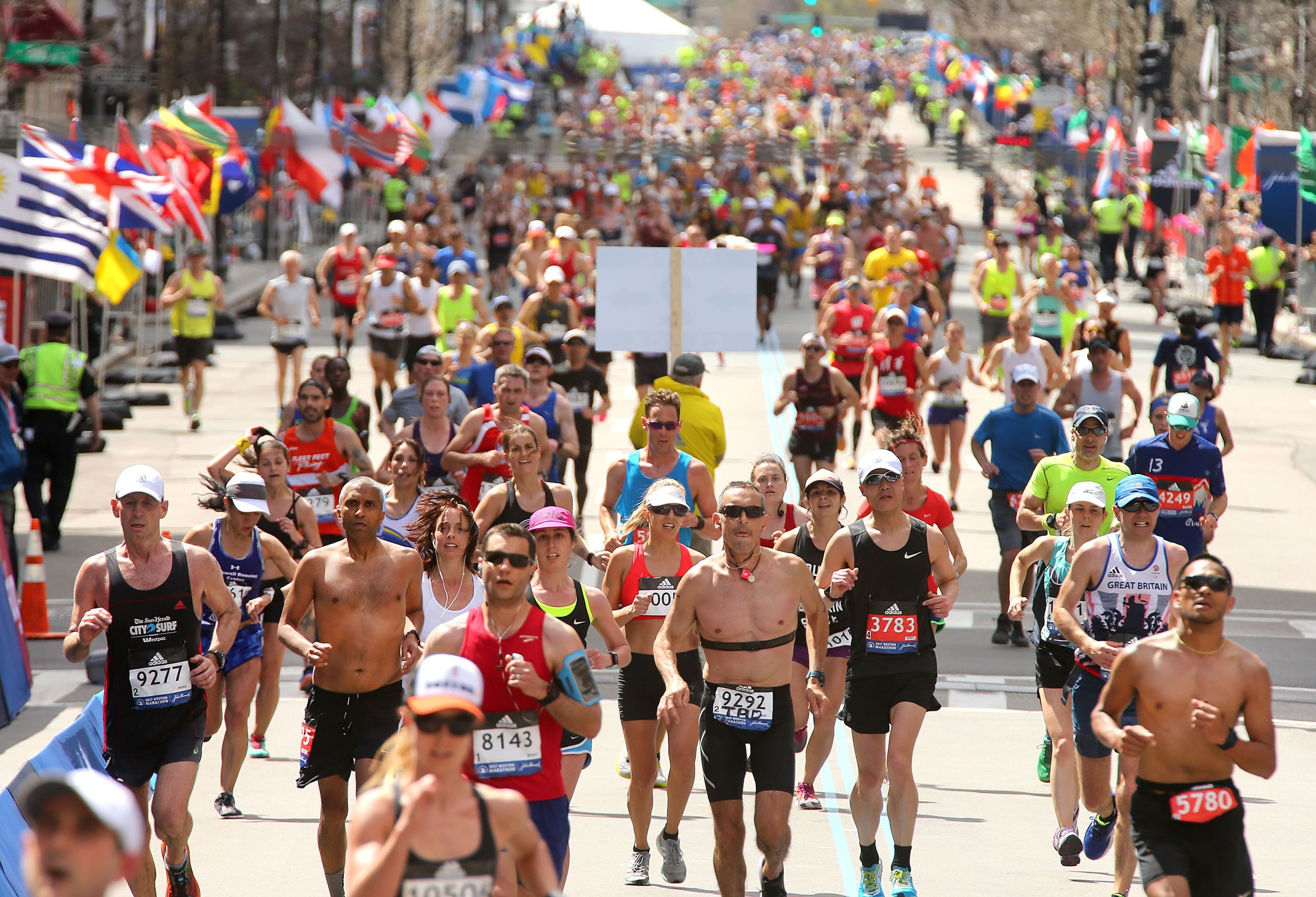 Plenty of runners are qualifying for the 2020 Boston Marathon even though the time standards are five minutes faster across all age groups