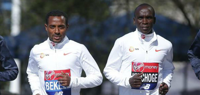 Eliud Kipchoge and Kenenisa Bekele, two of the world best marathon runners, were due to clash on Sunday in London but have been forced to shelve the plans with the event postponed due to the coronavirus