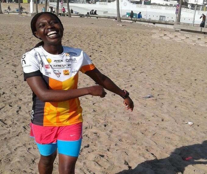 Run The World Challenge 2 Profile: Kenya's Rosaline Nyawira says she avoids anything that can lead her to fail