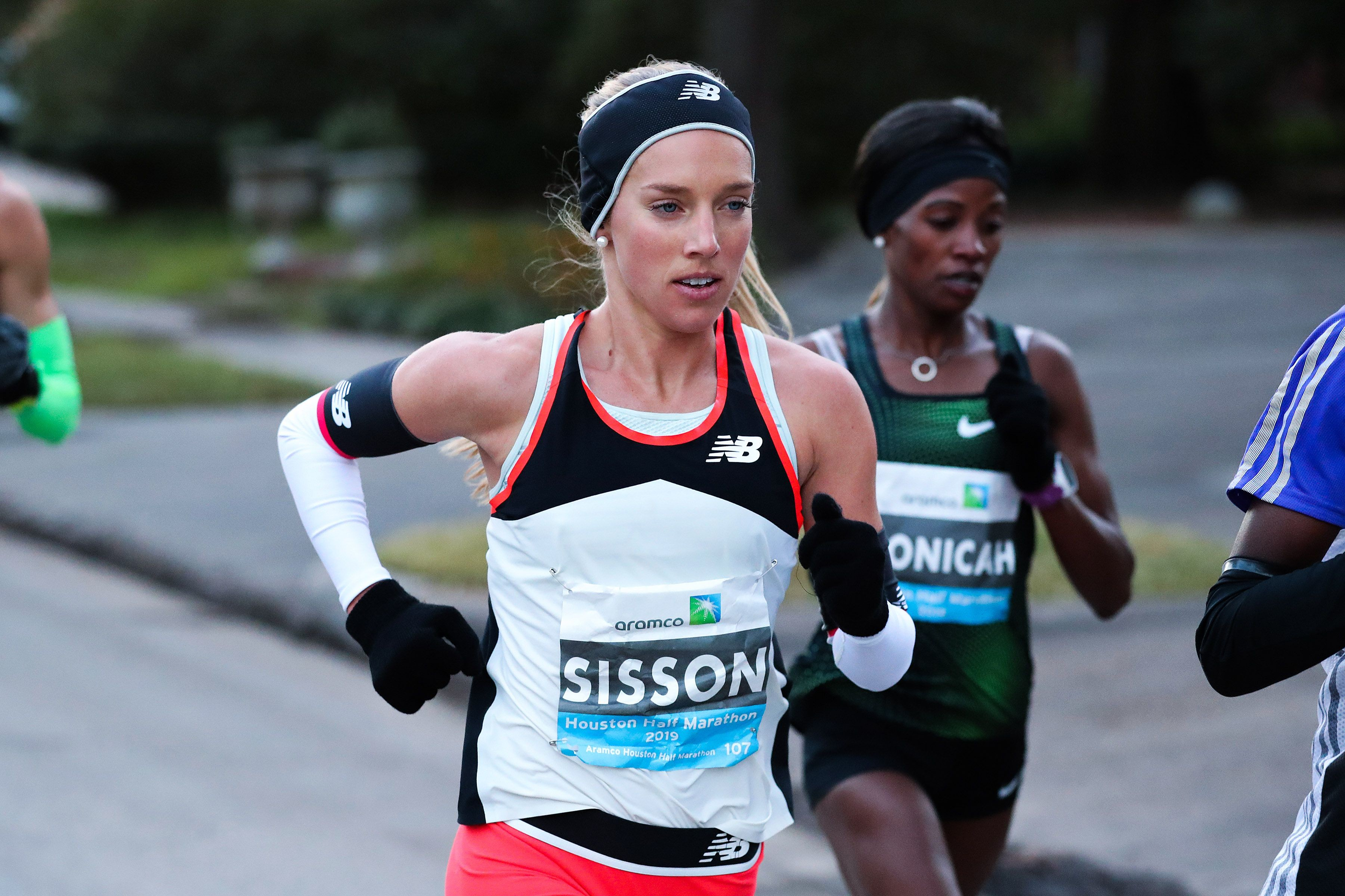 Emily Sisson is now the second fastest American woman half marathoner
