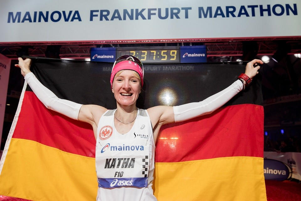 German Katharina Steinruck will return to run the Mainova Frankfurt Marathon on October