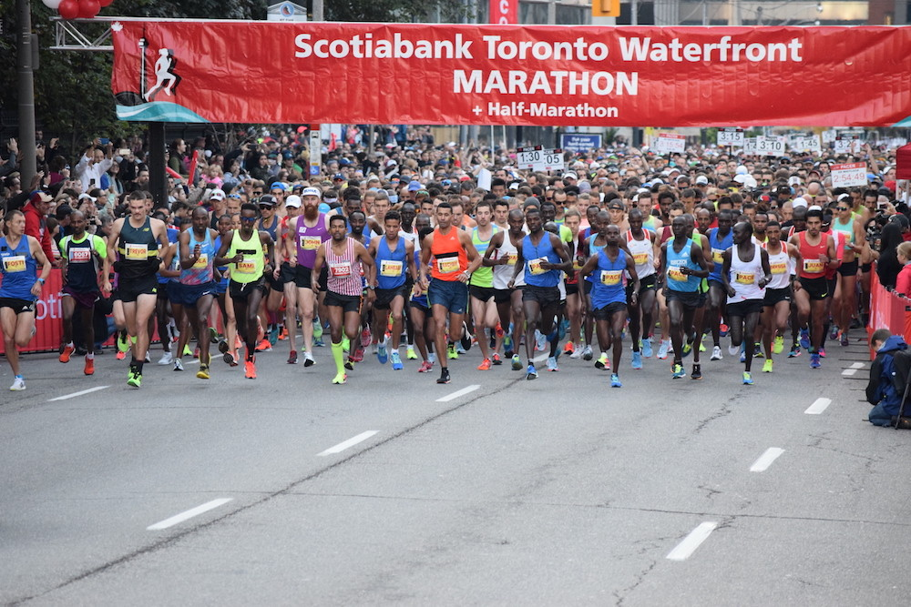 The Scotiabank Toronto Waterfront Marathon will be pausing its registration for the next few weeks