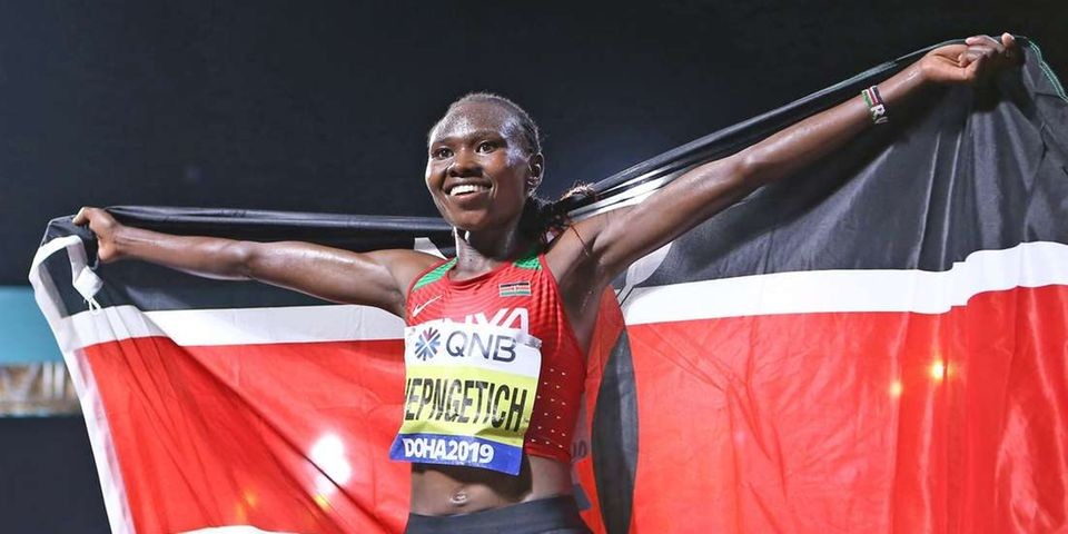 World champion Ruth Chepng'etich promises thrilling battle at London Marathon