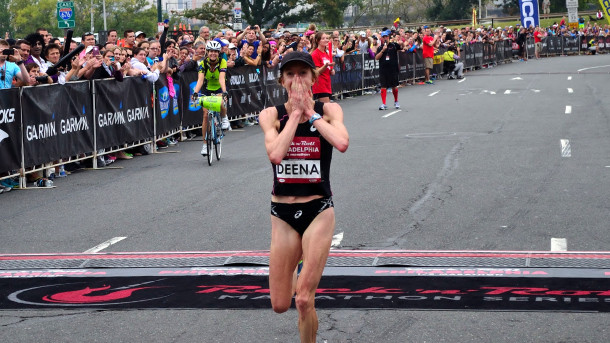 Deena Kastor is the honored guest at the 12th annual Missoula Marathon weekend