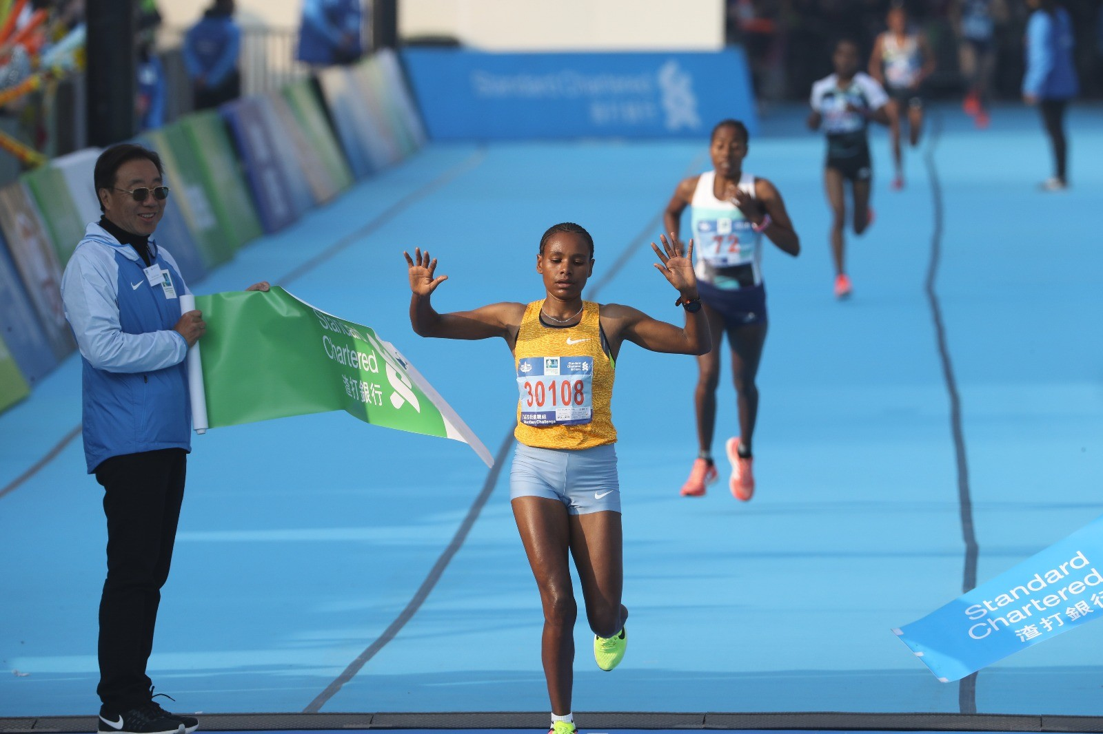 Belachew and Tollesa aim to retain their titles