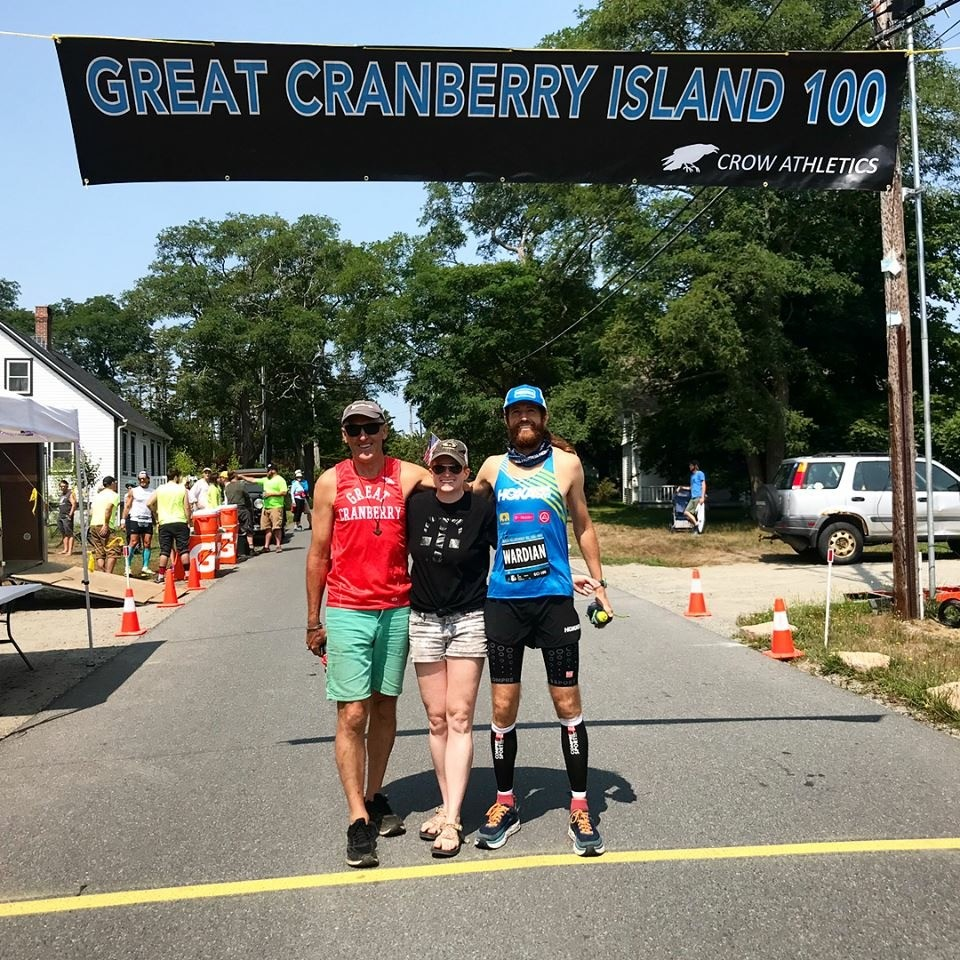 Michael Wardian runs fastest hundred miler ever in the state of Maine