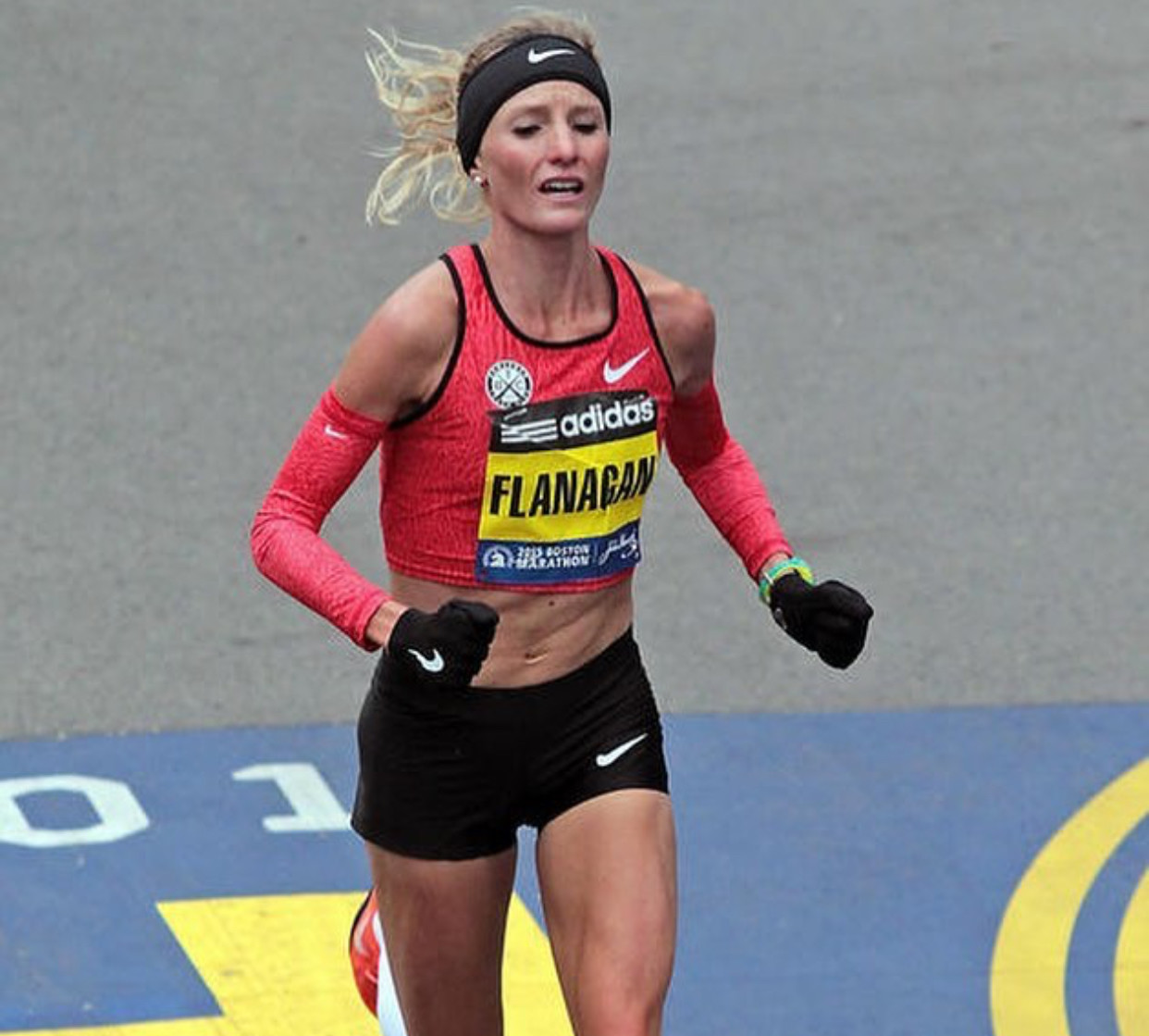 Shalane Flanagan message today is very clear - I have unfinished Business